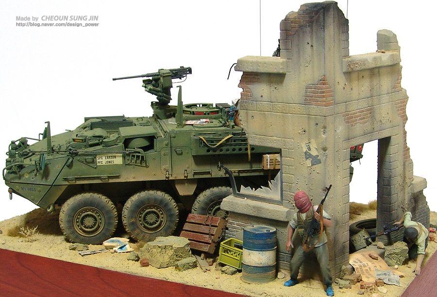 M1126 STRYKER - DIORAMA