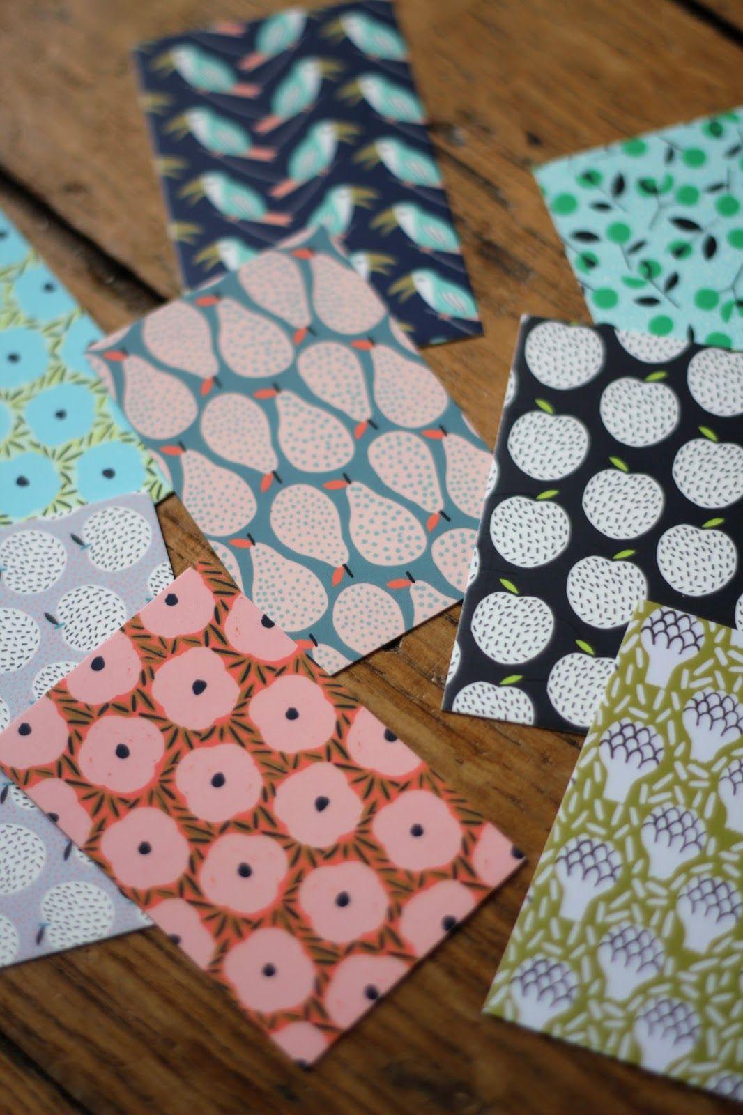 Flore Larrazet Textile Designer Surface Pattern Illustrator Mes Cartes De Visite Sont Arrivees