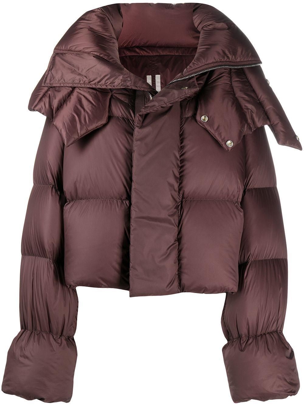 Rick Owens Cropped Puffer Jacket Farfetch Cropped Puffer Jacket Puffer Jackets Rick Owens [ 1334 x 1000 Pixel ]