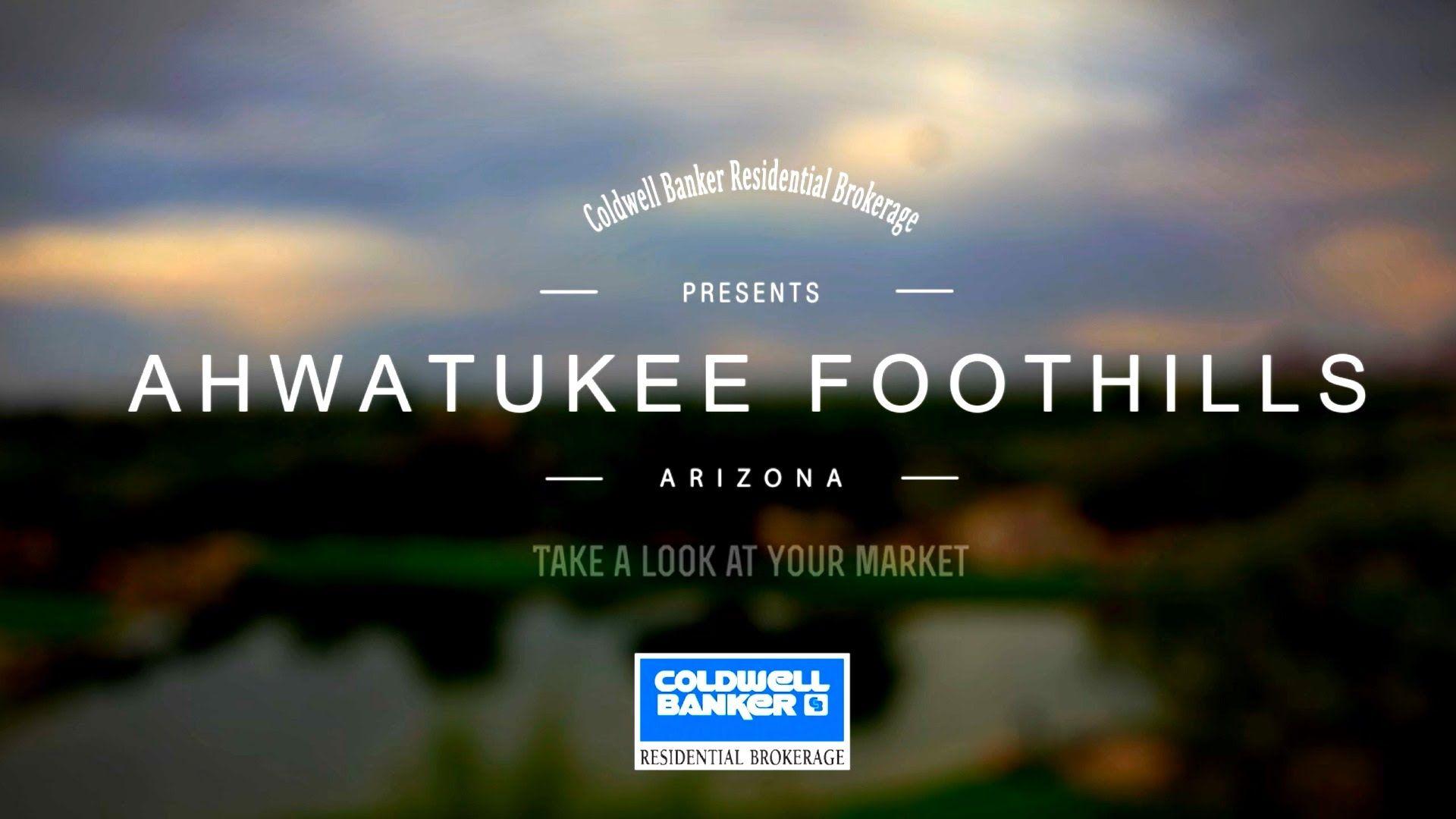 Ahwatukee Foothills Arizona Real Estate Market August 2016 ...