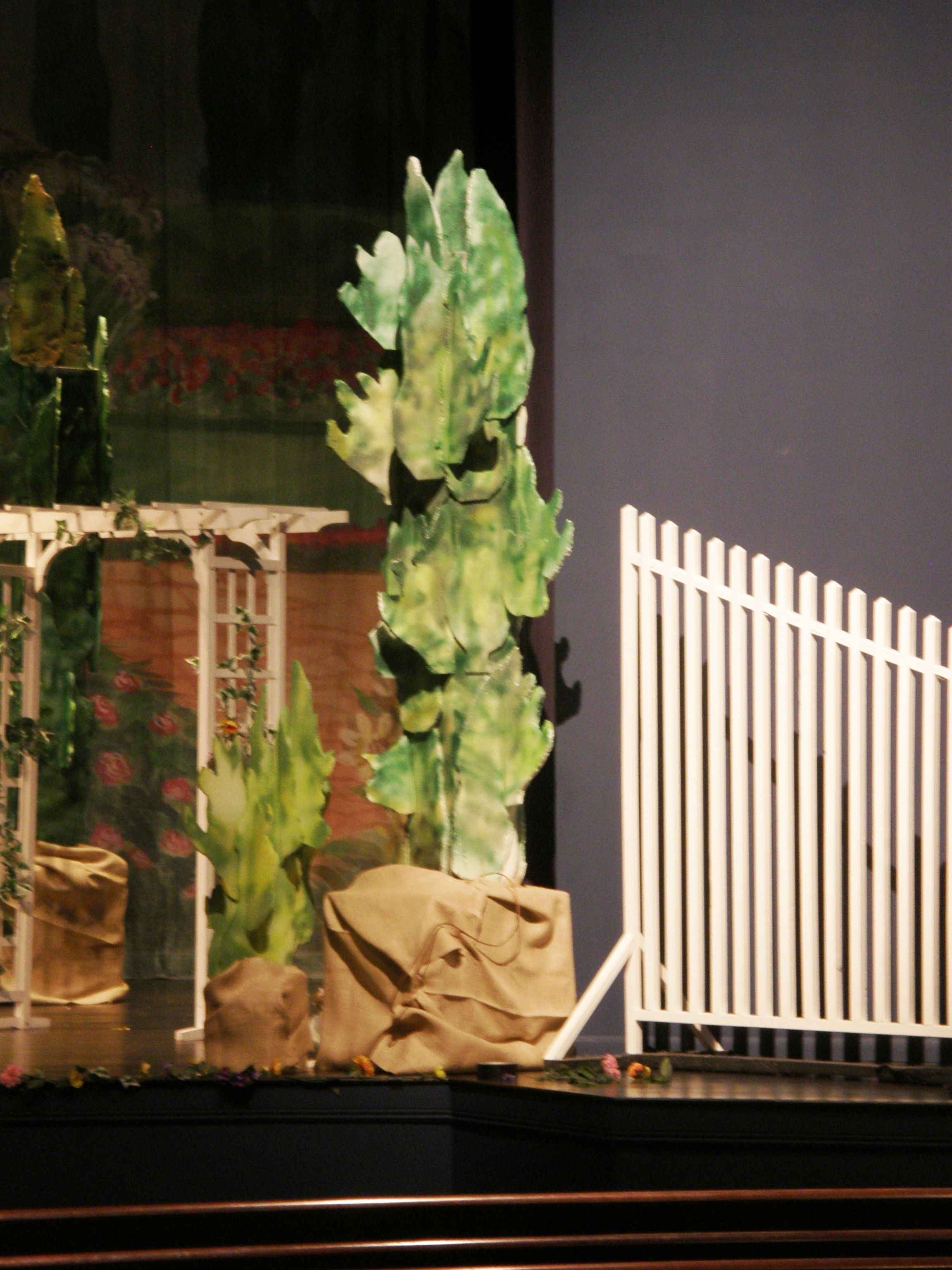 another example of props created for taming of the shrew set and another example of props created for taming of the shrew