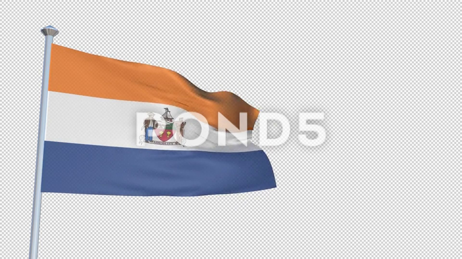 Albany New York Loopable 3d Flag Animation With Alpha Channel And Transpare Stock Footage Flag Animation Loopab Flag Animation Albany New York Alpha Channel