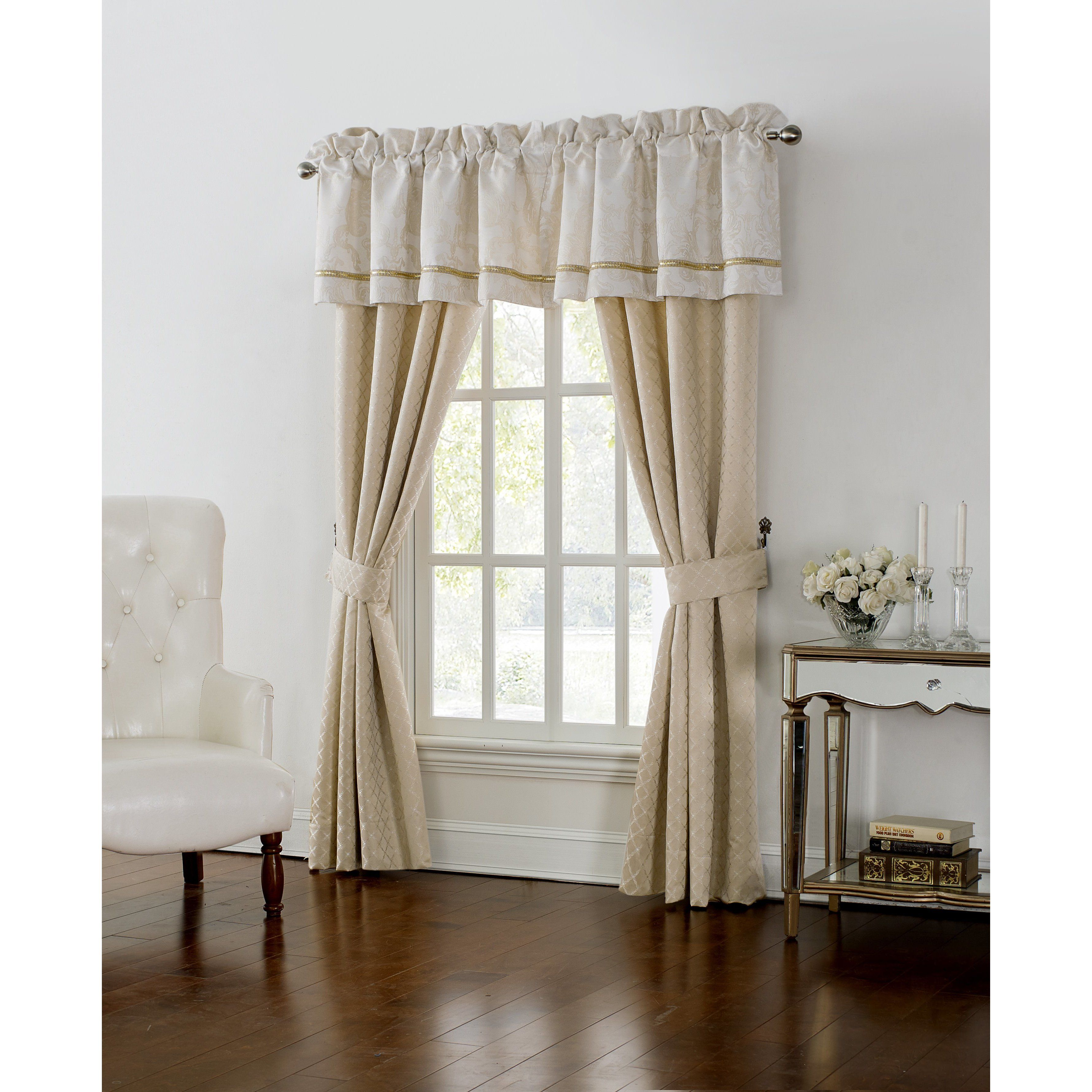 Curtain Flower Decor Tulle Door Window Curtain Drape Panel Sheer Scarf Valances Modern Bedroom Living Room Curtains Cortinas To Assure Years Of Trouble-Free Service Home Décor