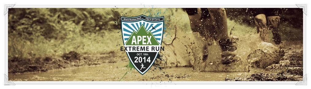 Apex Extreme Run!  5 miles, 15+ obstacles, tons of fun!!!!