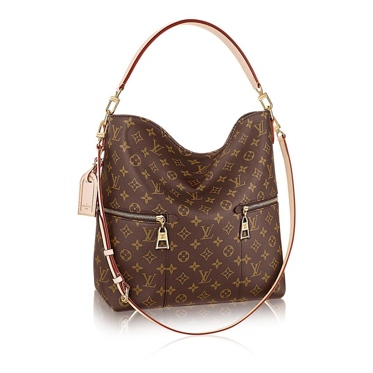 Melie Designer Monogram Canvas Handbag  3e9864809a