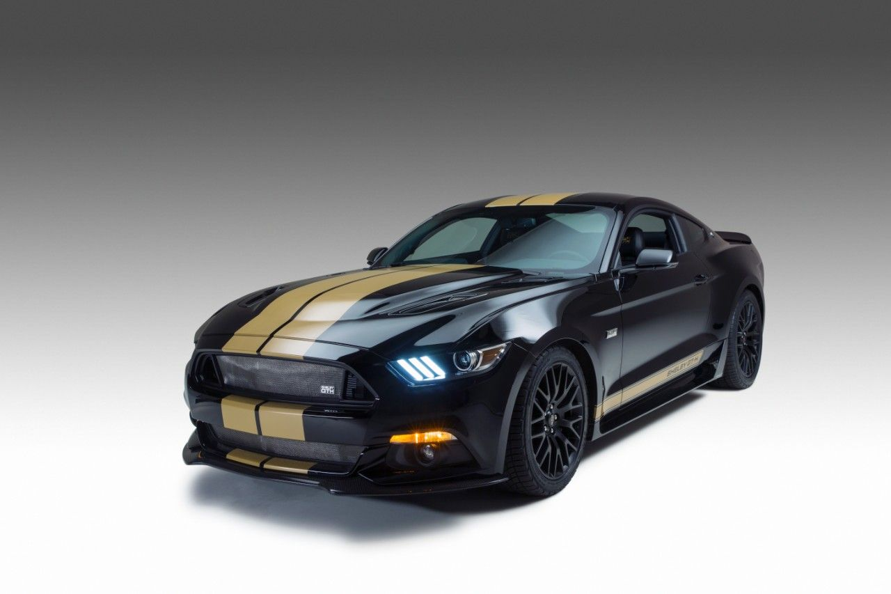 Shelby American Hertz And Ford Motor Company Launch 50th Anniversary Edition Ford Shelby Gt H Ford Mustang Shelby Gt Ford Mustang Shelby Mustang Shelby