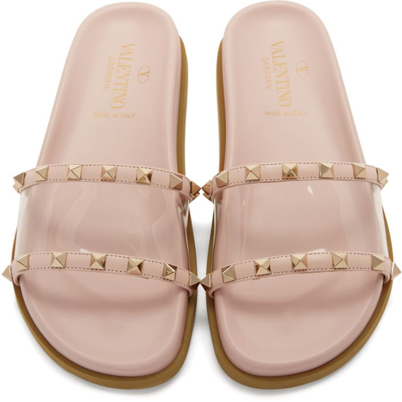 View Valentino Slides Pink Wallpapers