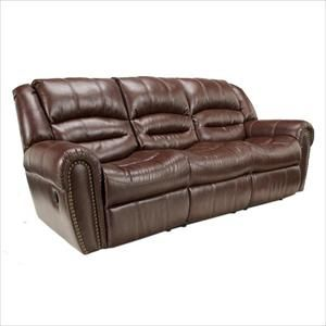 Surprising Picture Of Brown Vinyl Reclining Sofa 610 Home Sofa Gmtry Best Dining Table And Chair Ideas Images Gmtryco