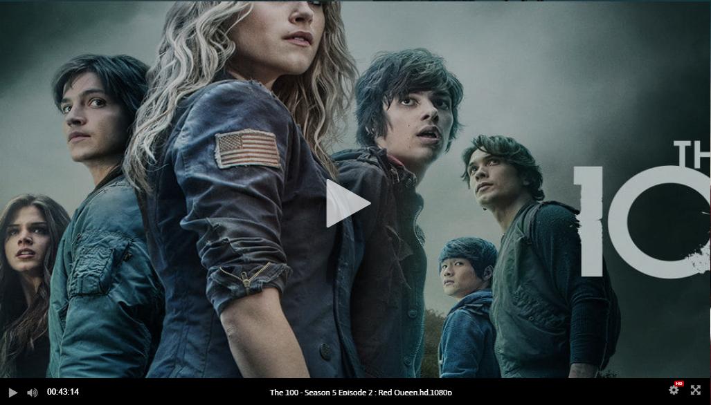 watch the 100 season 5 free online