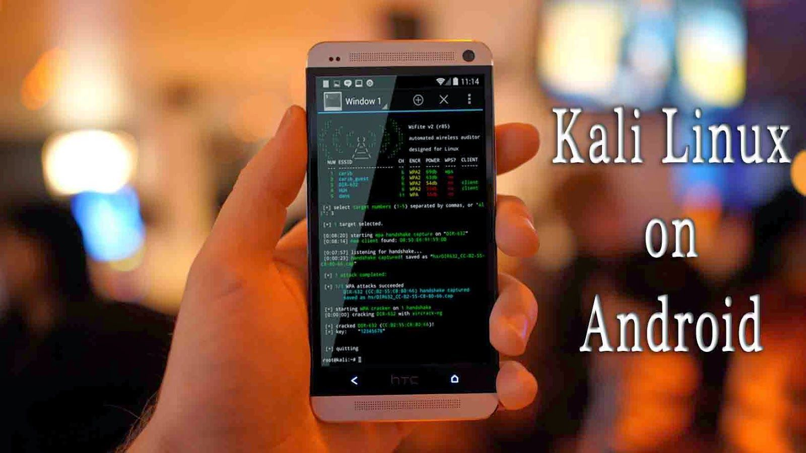 download kali linux nethunter for android