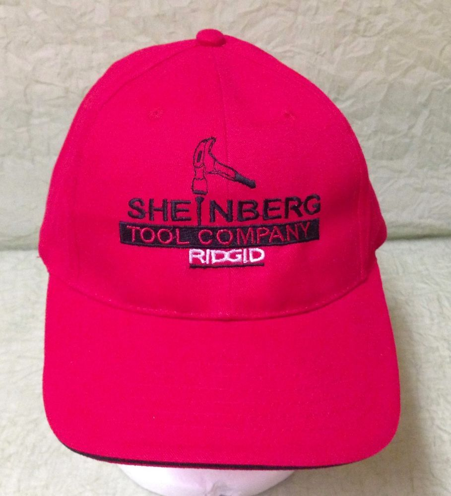 Sheinberg Ridgid Tool Company Corpus Christi Tx Red Baseball Trucker Cap Hat Rcckoozie Baseballcap Outfit Accessories Corpus Christi Tx Hats