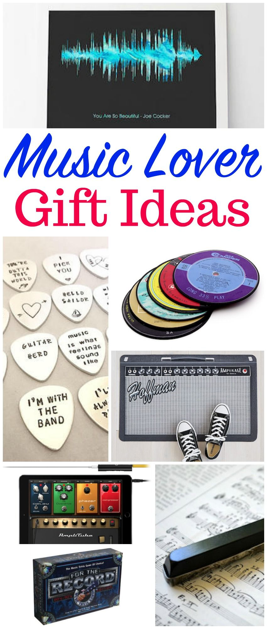 unique and different music lover gift ideas | christmas | gifts