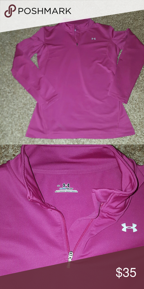 Under Armour cold gear Under Armour top Cold gear  Size extra large Like new Under Armour Tops Tees - Long Sleeve