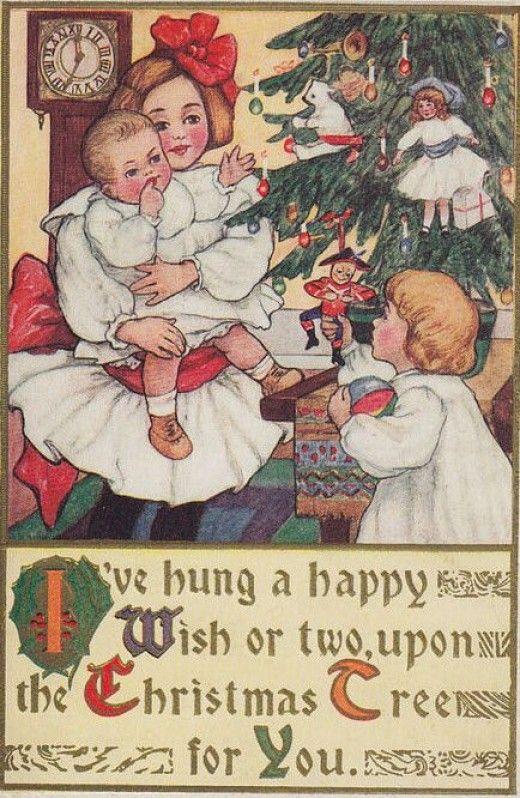 Public Domain Vintage Christmas Images : public, domain, vintage, christmas, images, Vintage, Christmas, Images, Public, Domain, Condition, Images,, Cards