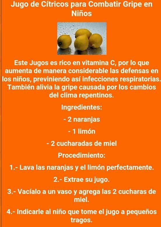 Cuales son los jugos citricos naturales