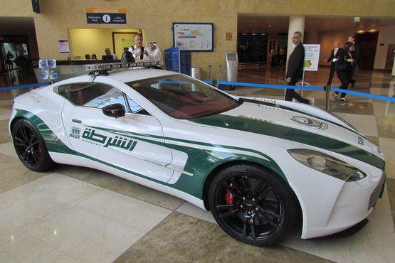 Dubai Police Aston Martin One 77 Police Cars Motor Car Aston One 77