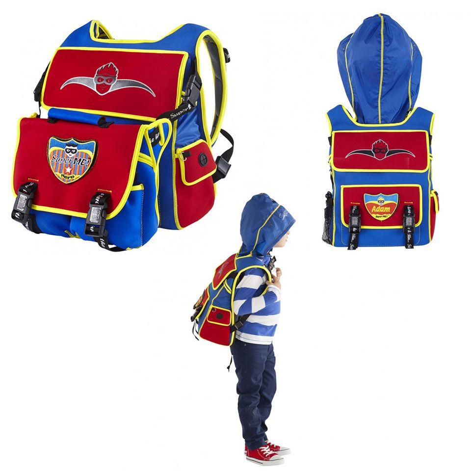 Classic Hoodie Backpack - superhero hoodie backpack - This sleek ... b7444bc399162