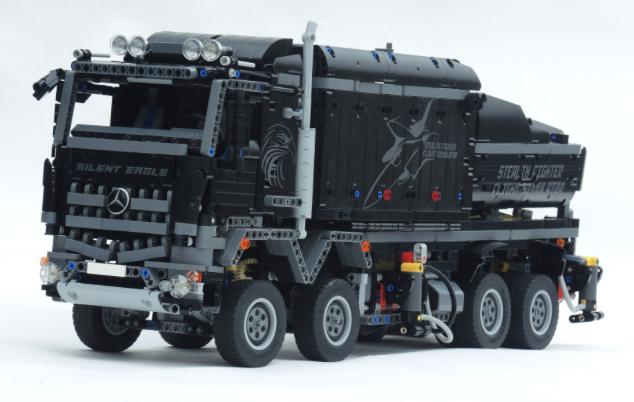 25+ beste ideeën over lego camion op pinterest - lego instructies
