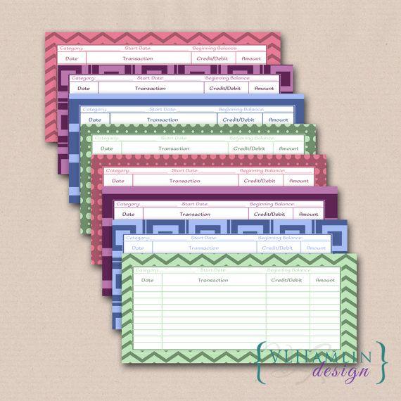printable cash envelope system envelope by vlhamlindesign on etsy