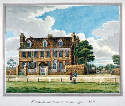 View of Parsonage House, Parson's Green, Fulham