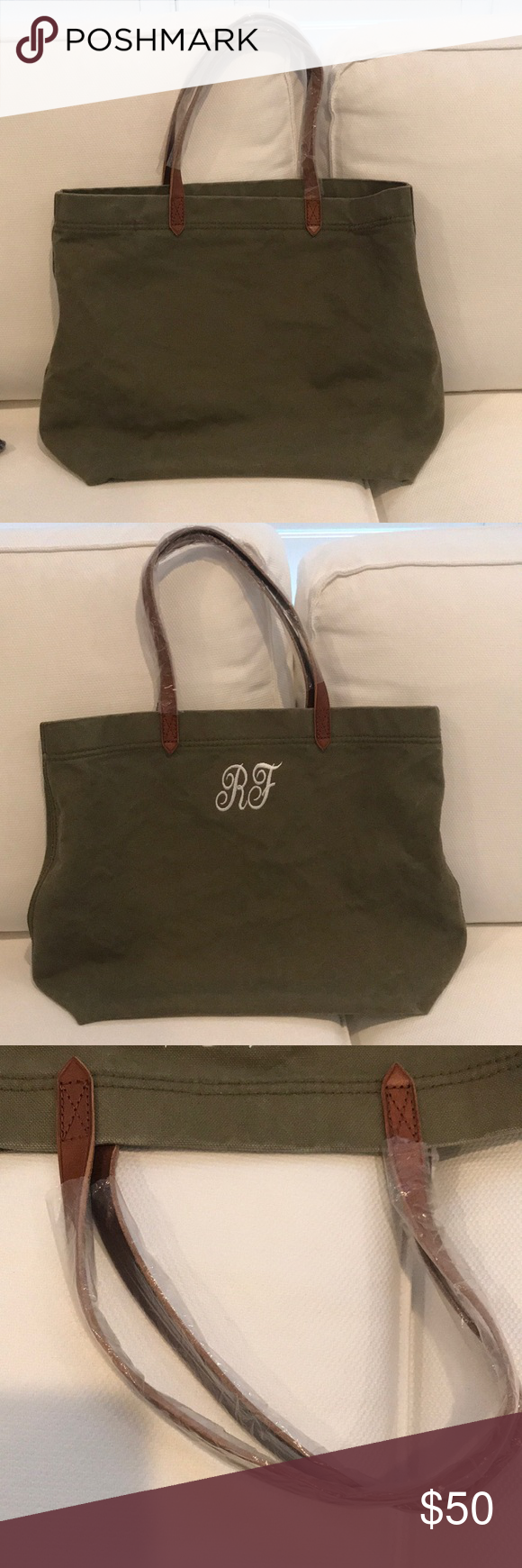 aace2028f Madewell Canvas Transport Tote British Surplus RF This tote is brand new  and never used.