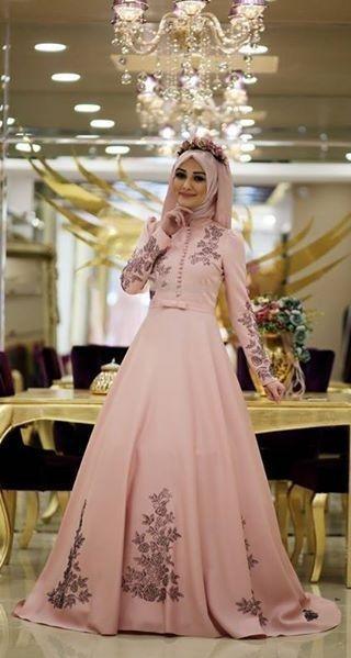 Modele de robe soiree femme voilee