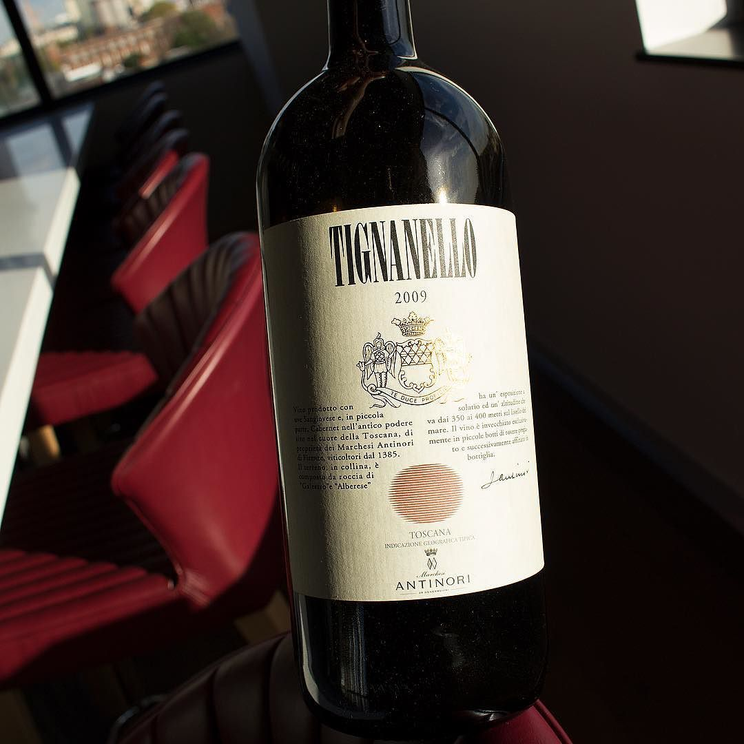 2009 Marchesi Antinori Tignanello Tuscany Italy Characteristic Chianti Red With Violet And Cherry Bouquets Rich Intense And E Tuscan Wine Chianti Italian Wine
