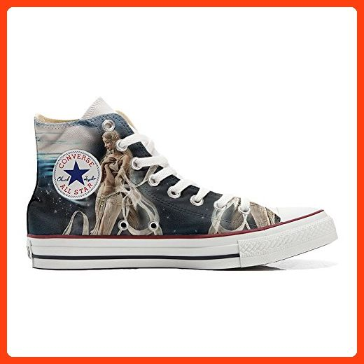 Make Your Shoes Converse Customized Adulte - chaussures coutume (produit artisanal) Fata style - size EU 42 BTT9UVa