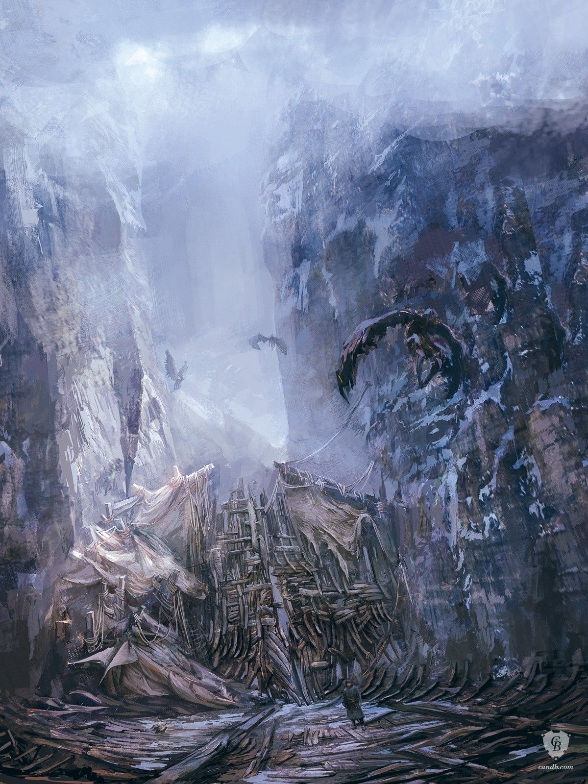 Artwork Skellige Gate - Witcher 3 | The Witcher 3 | CD