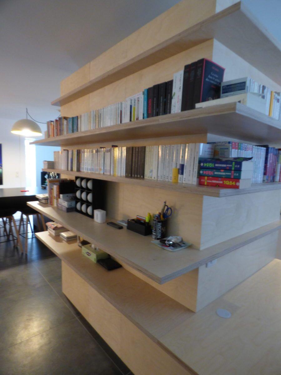 Bibliotheque Meubles Tv Agencement Vannes Atelier Arboresence 56 Bibliotheque Meuble Tv Mobilier De Salon Meuble Tv