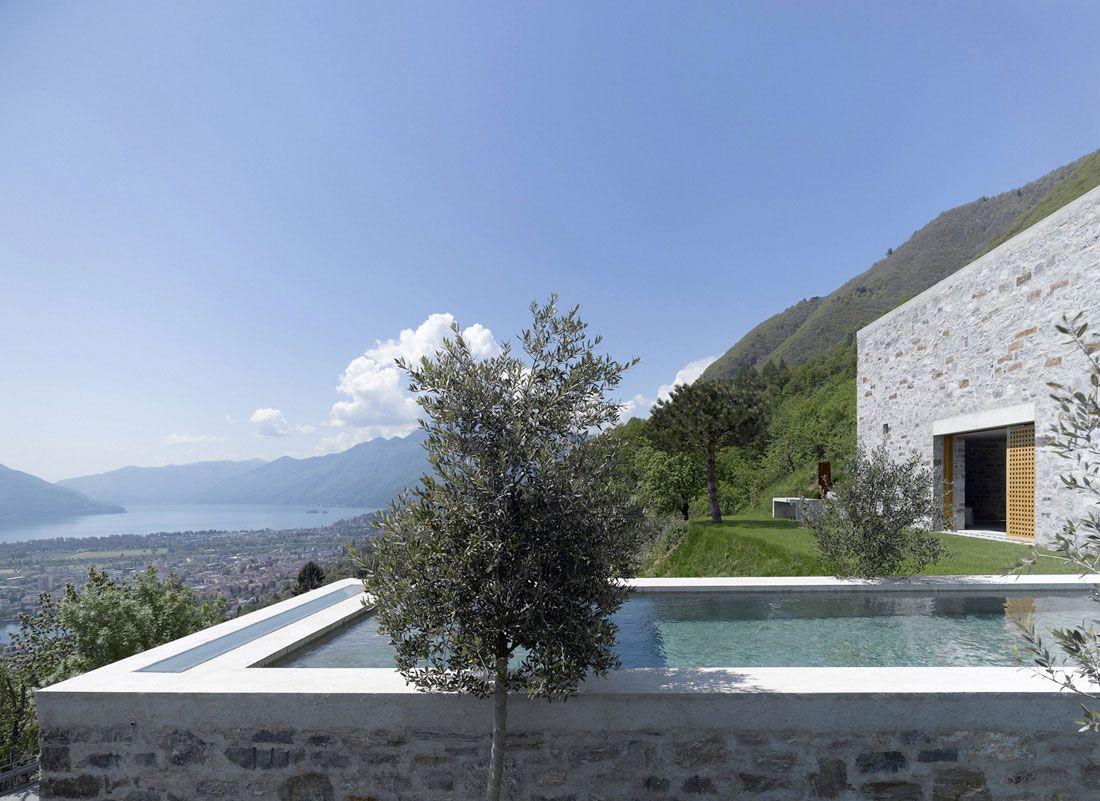 Brione House By Wespi De Meuron Architecture Architect Stone House