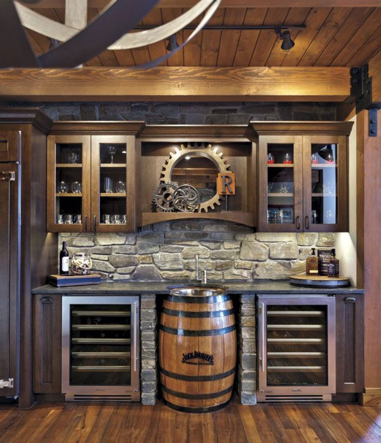Industrial Diy Wall Basement Bar For Your Man Cave Best Basement