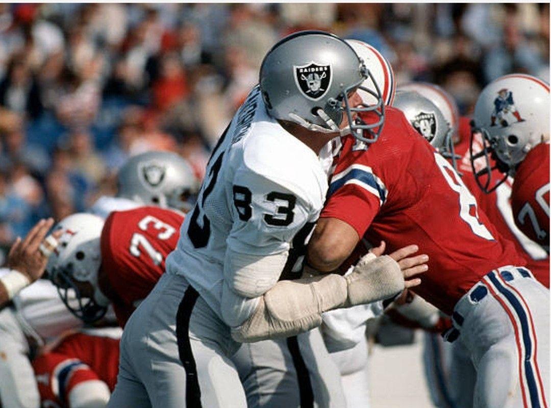 1976 Raiders At Patriots Oakland Raiders Nfl Uniforms Nfl