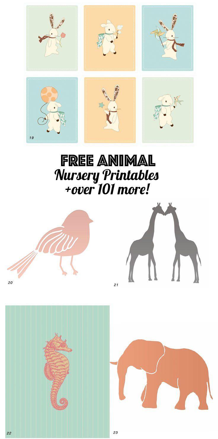 126 Free Nursery Printables Ultimate Guide To Nursery Art Baby