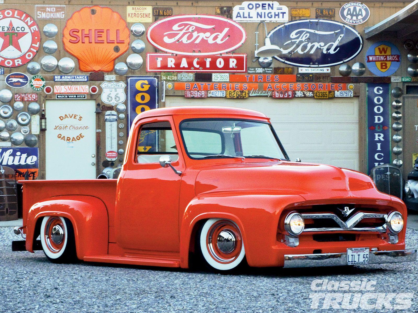 1955 Ford F 100 Classic Trucks Magazine Classic Pickup Trucks Classic Ford Trucks Ford Trucks