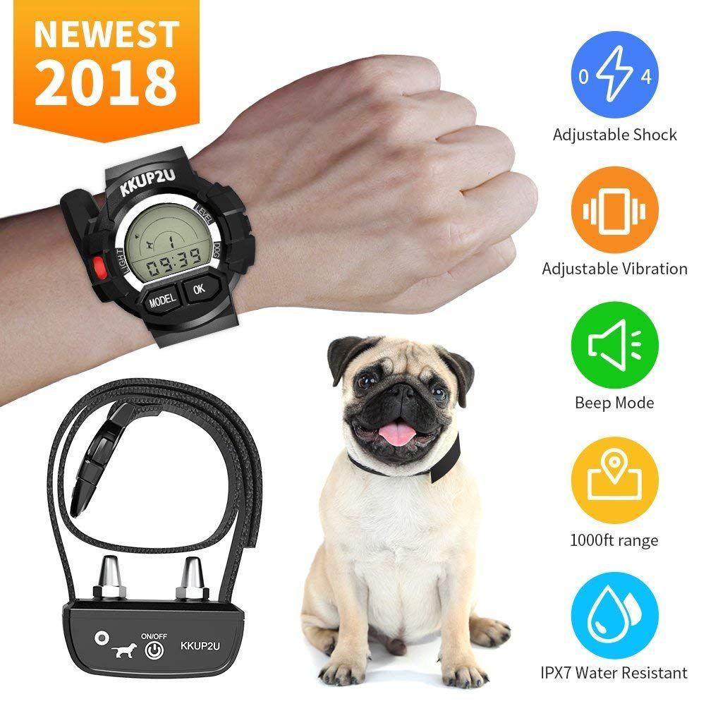 KKUP2U Dog Training Collar, Rechargeable and Waterproof