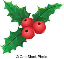 Mistletoe Cartoon Hand Drawn Image Original Colorful Artwork Comic Childish Style Drawing Weihnachten