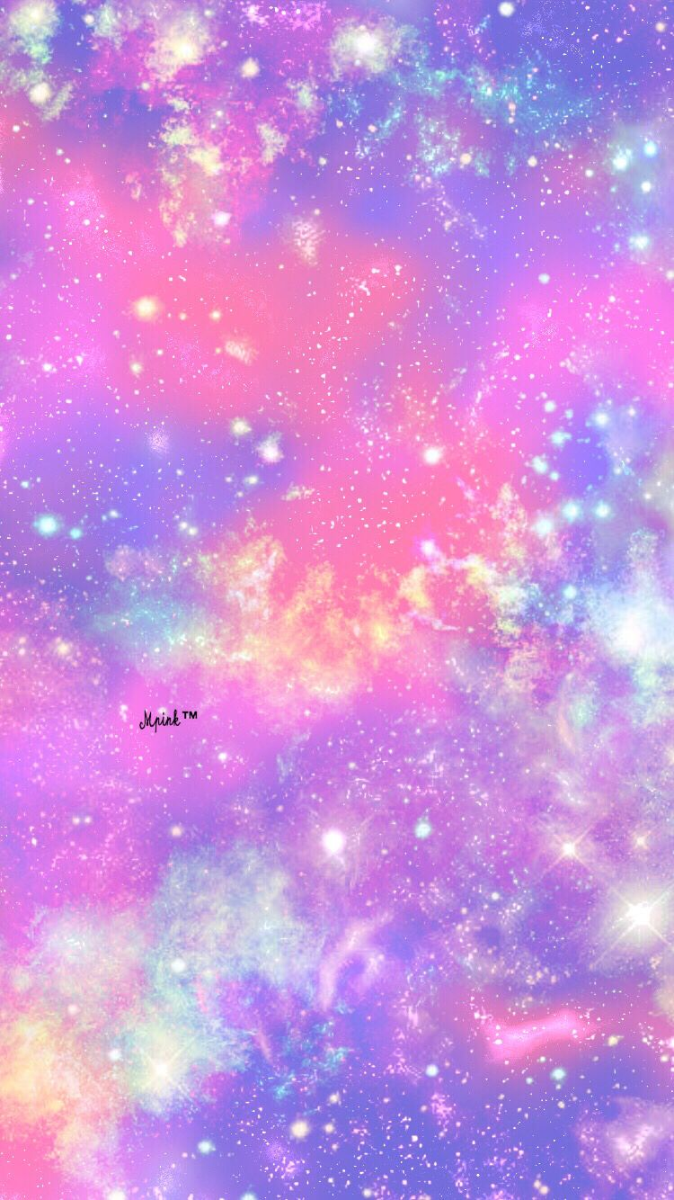 Aesthetic Cute Pink Star Wallpaper ...