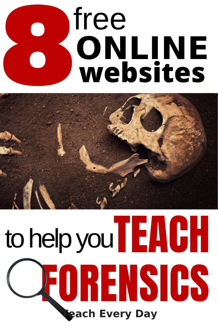 8 FREE Forensic Teacher Resources - Teach Every Day