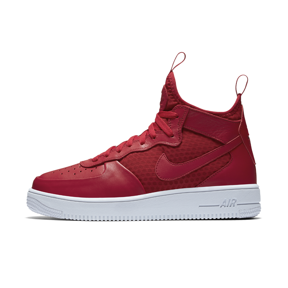 6ebd3efc82 Nike Air Force 1 UltraForce Mid Men s Shoe Size 10.5 (Red ...