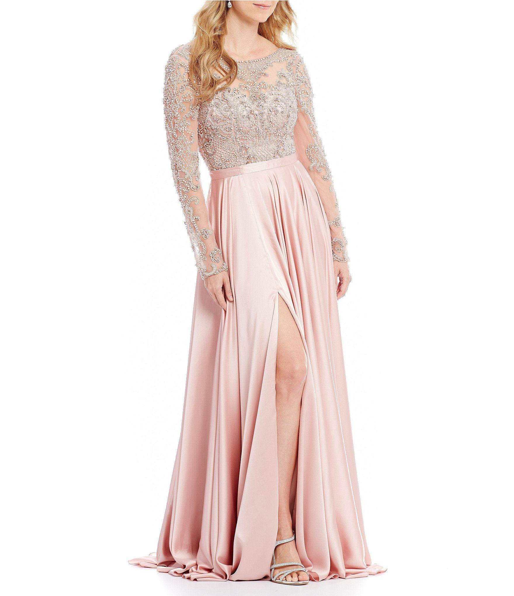 Terani Couture Beaded Lace Bodice Ball Gown #Dillards | Down the ...