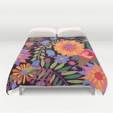 Just Flowers Duvet Cover
