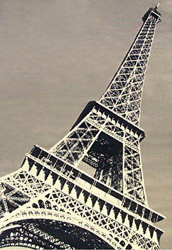 Abacasa Terra Paris Area Rug 5 By 8 Black Grey Ivory