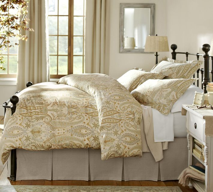 Pottery Barn Mendocino Bed Bed Brass Bed Daybed Covers