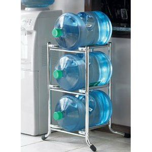 Water Bottle Shelf Hopefully One Of My Husband S Next Welding Projects They Take Up A Lot Of Water Bottle Storage Bottle Storage Water Bottle Storage Rack