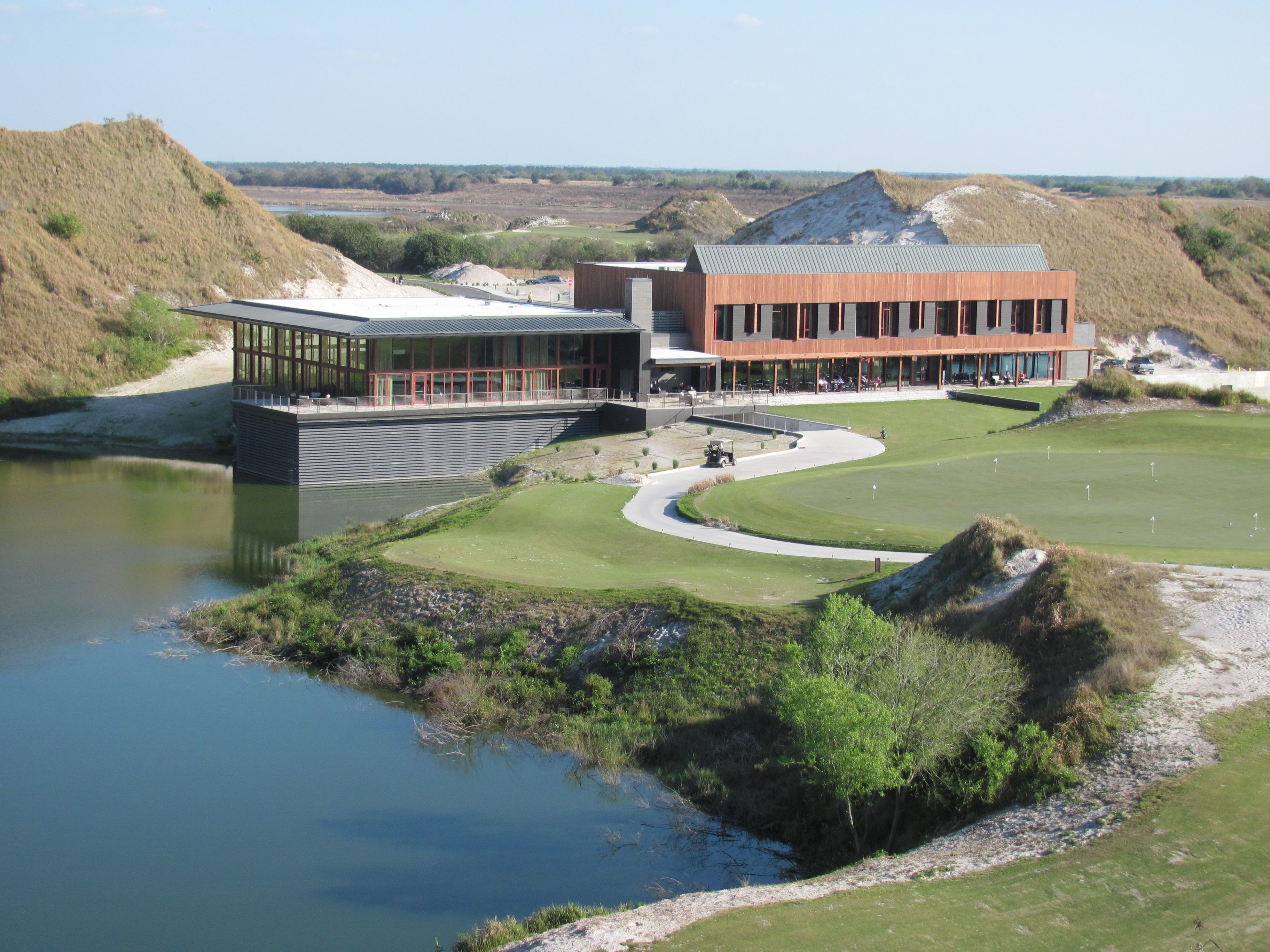 Streamsong Resort Clubhouse In Central Florida Golf