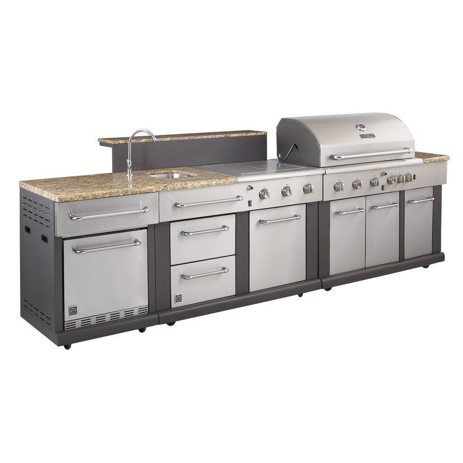 shop master forge modular outdoor kitchen set at lowes canada find our selection of outdoor - Master Forge Outdoor Kitchen