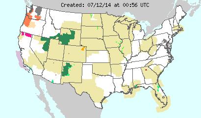 Tornado, Severe weather alert