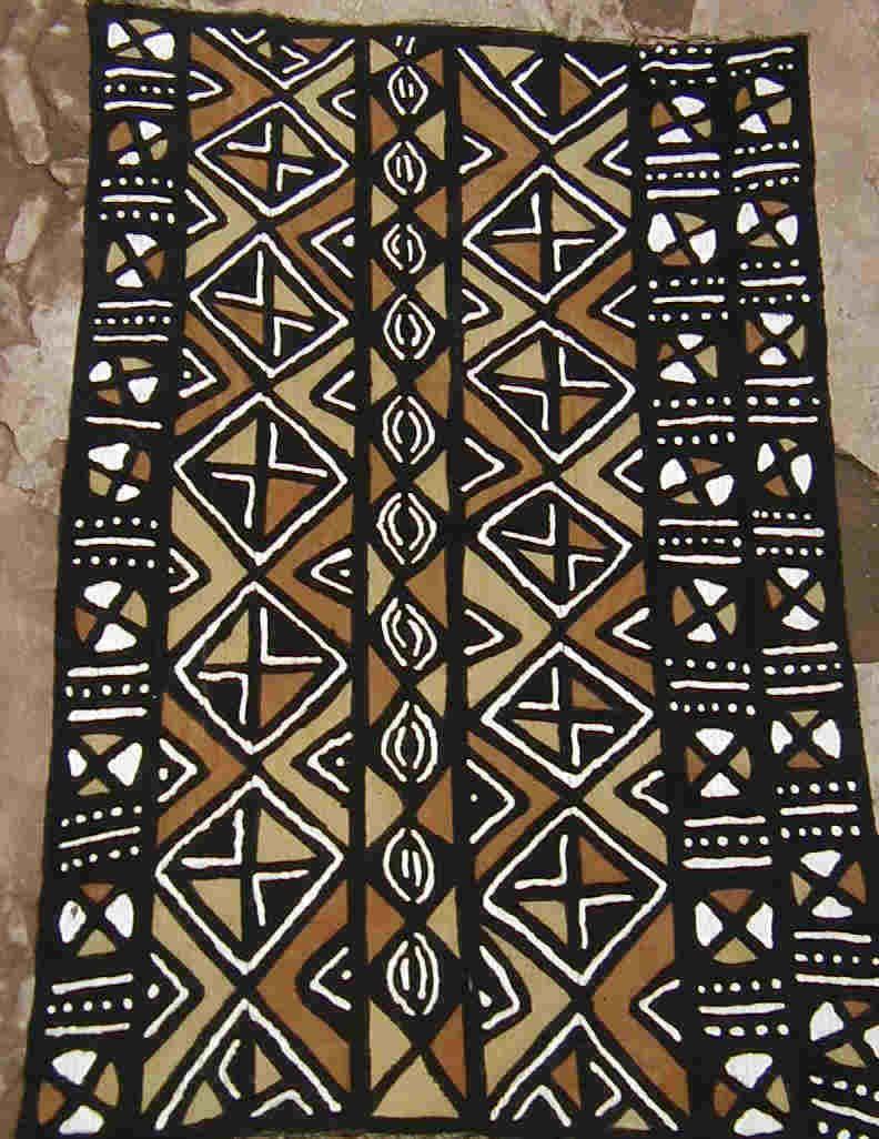 Mudcloth Afrikanische Muster Afrikanische Stoffe Und Textilkunst