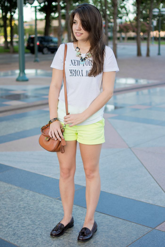 Casual preppy outfit